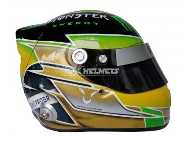 LEWIS HAMILTON 2013 INTERLAGOS BRAZIL BRASIL GP F1 REPLICA