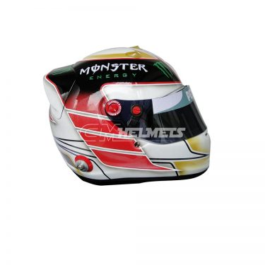 LEWIS HAMILTON 2014 ABU DHABI GP WORLD CHAMPION COMMEMORATIVE F1 REPLICA HELMET FULL SIZE