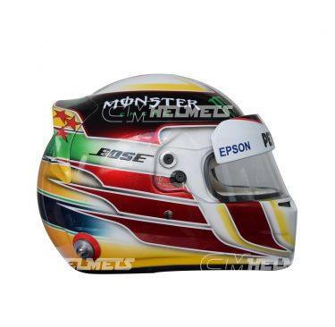 LEWIS HAMILTON 2015 INTERLAGOS F1 REPLICA HELMET FULL SIZE
