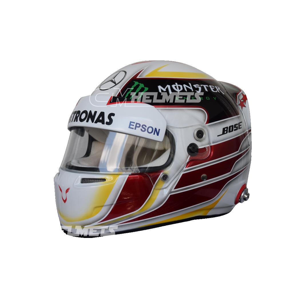 Lewis hamilton 2015 new design f1 replica helmet full size for Design replica