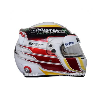 LEWIS HAMILTON 2015 SILVERSTONE GP F1 REPLICA HELMET FULL SIZE