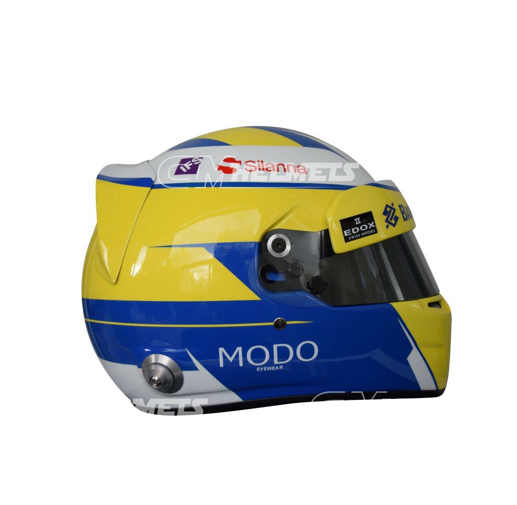 MARCUS ERICCSON 2016 F1 REPLICA HELMET FULL SIZE