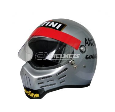 MARIO ANDRETTI 1978 WORLD CHAMPION SIMPSON BANDIT F1 REPLICA HELMET FULL SIZE