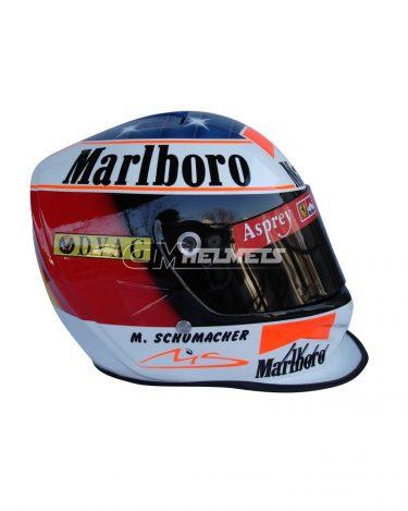 MICHAEL SCHUMACHER 1997 F1 REPLICA HELMET FULL SIZE