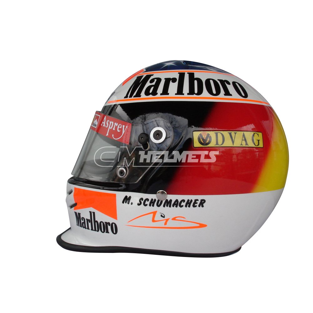 MICHAEL SCHUMACHER 1998 F1 REPLICA HELMET FULL SIZE