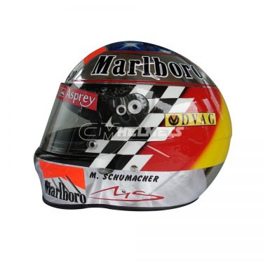 MICHAEL SCHUMACHER 1998 NEW SUZUKA GP F1 REPLICA HELMET FULL SIZE