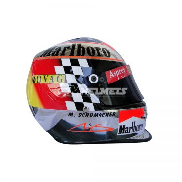 MICHAEL SCHUMACHER 1998 SUZUKA GP F1 REPLICA HELMET FULL SIZE