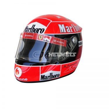 MICHAEL SCHUMACHER 2002 COMMEMORATIVE 5TH CHAMPIONSHIP F1 REPLICA HELMET FULL SIZE