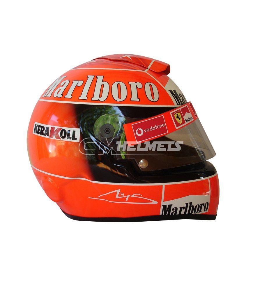 MICHAEL SCHUMACHER 2003 F1 REPLICA HELMET FULL SIZE