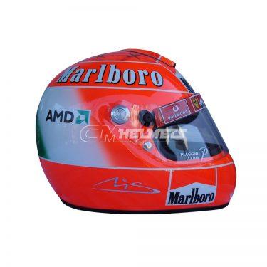 MICHAEL SCHUMACHER 2004 MONZA F1 REPLICA HELMET FULL SIZE