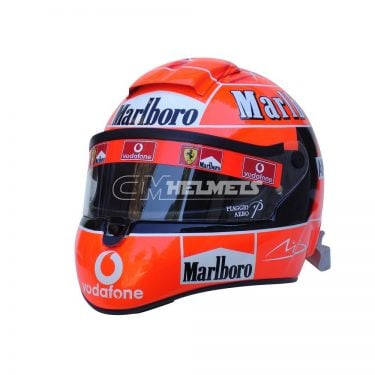 MICHAEL SCHUMACHER 2004 WORLD CHAMPION F1 REPLICA HELMET FULL SIZE