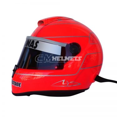 MICHAEL SCHUMACHER 2010 F1 REPLICA HELMET FULL SIZE