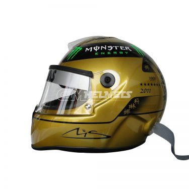 MICHAEL-SCHUMACHER-2011-20-YEARS-COMMEMORATIVE-GOLDEN-F1-REPLICA-HELMET-FULL-SIZE-2