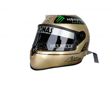 MICHAEL-SCHUMACHER-2011-20-YEARS-COMMEMORATIVE-WITH-18K-GOLD-F1-REPLICA-HELMET-FULL-SIZE-10