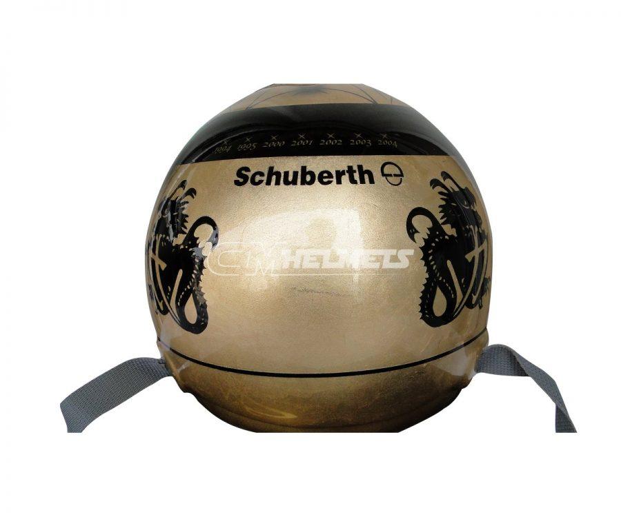 MICHAEL-SCHUMACHER-2011-20-YEARS-COMMEMORATIVE-WITH-18K-GOLD-F1-REPLICA-HELMET-FULL-SIZE-6