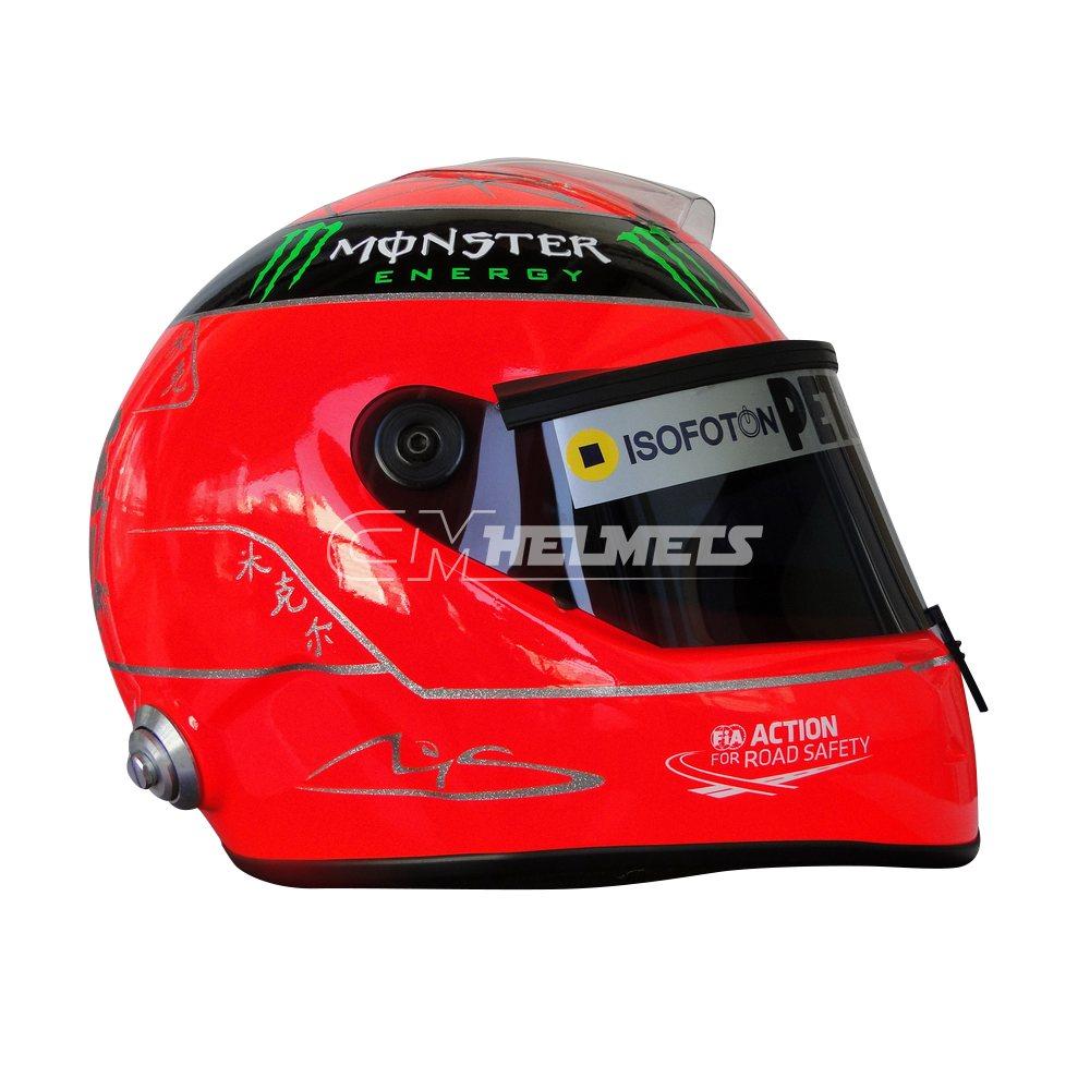 MICHAEL SCHUMACHER 2012 F1 REPLICA HELMET FULL SIZE - CM ...