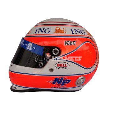 NELSON PIQUET JR MONACO 2008 F1 REPLICA HELMET FULL SIZE