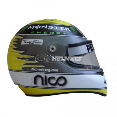 NICO ROSBERG 2011 F1 REPLICA HELMET FULL SIZE