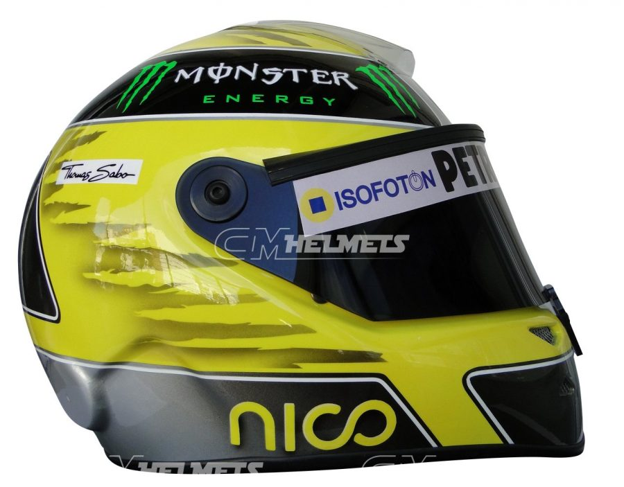 NICO ROSBERG 2013 F1 REPLICA HELMET FULL SIZE