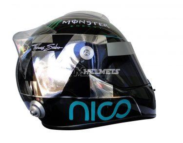 NICO ROSBERG 2014 F1 REPLICA HELMET FULL SIZE