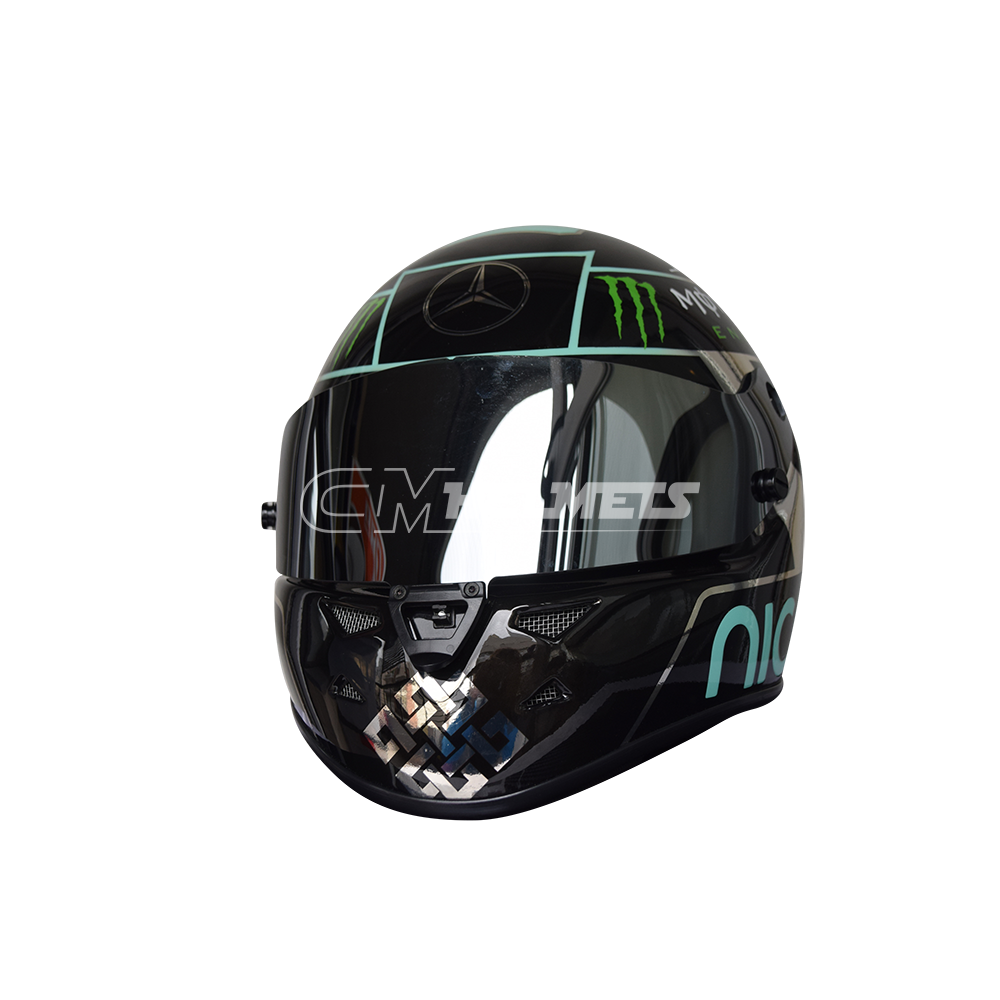 NICO ROSBERG 2016 F1 REPLICA HELMET FULL SIZE - CM Helmets