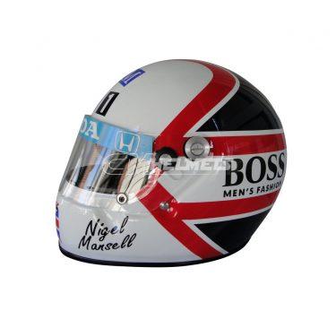 NIGEL MANSELL 1986 F1 REPLICA HELMET FULL SIZE