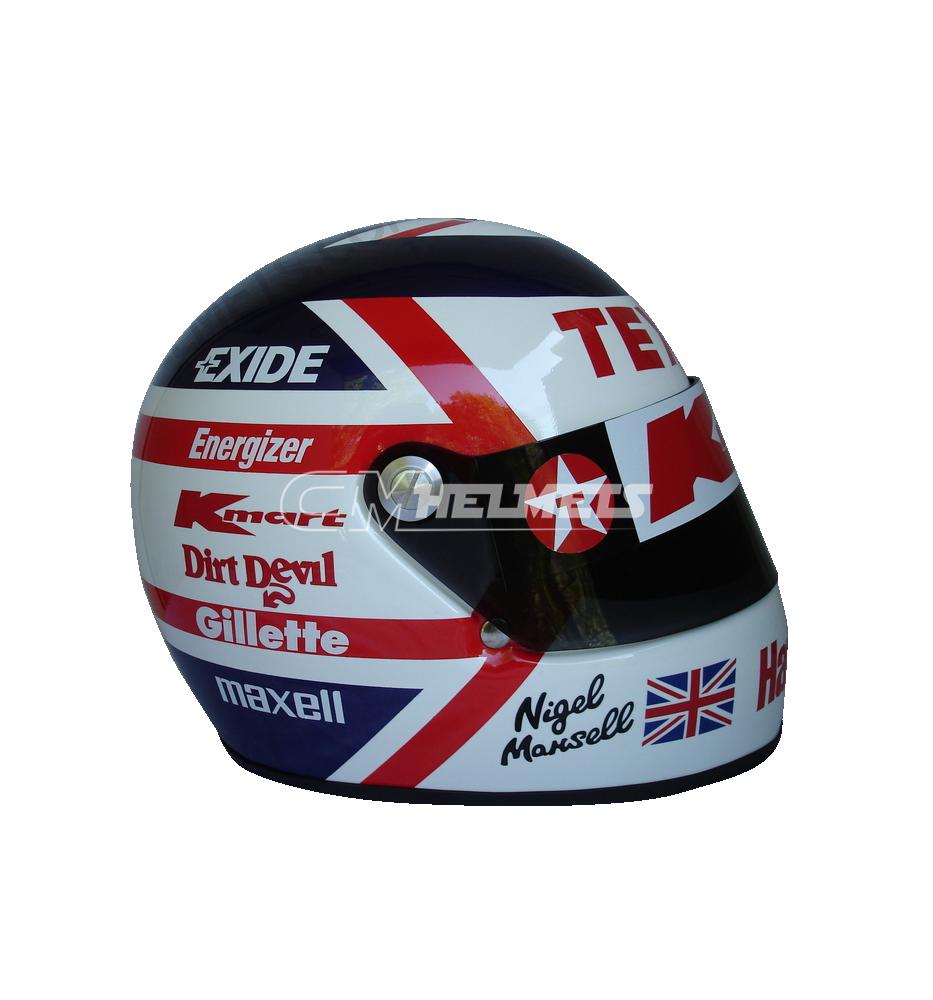 Nigel Mansell 1993 Karting F1 Replica Helmet Full Size