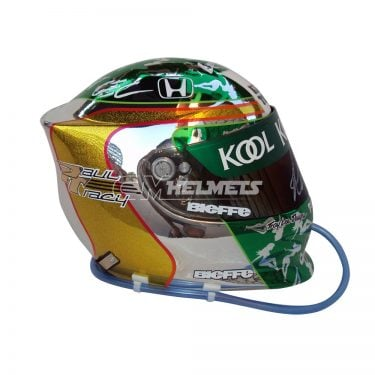 PAUL TRACY 2001 REPLICA HELMET FULL SIZE