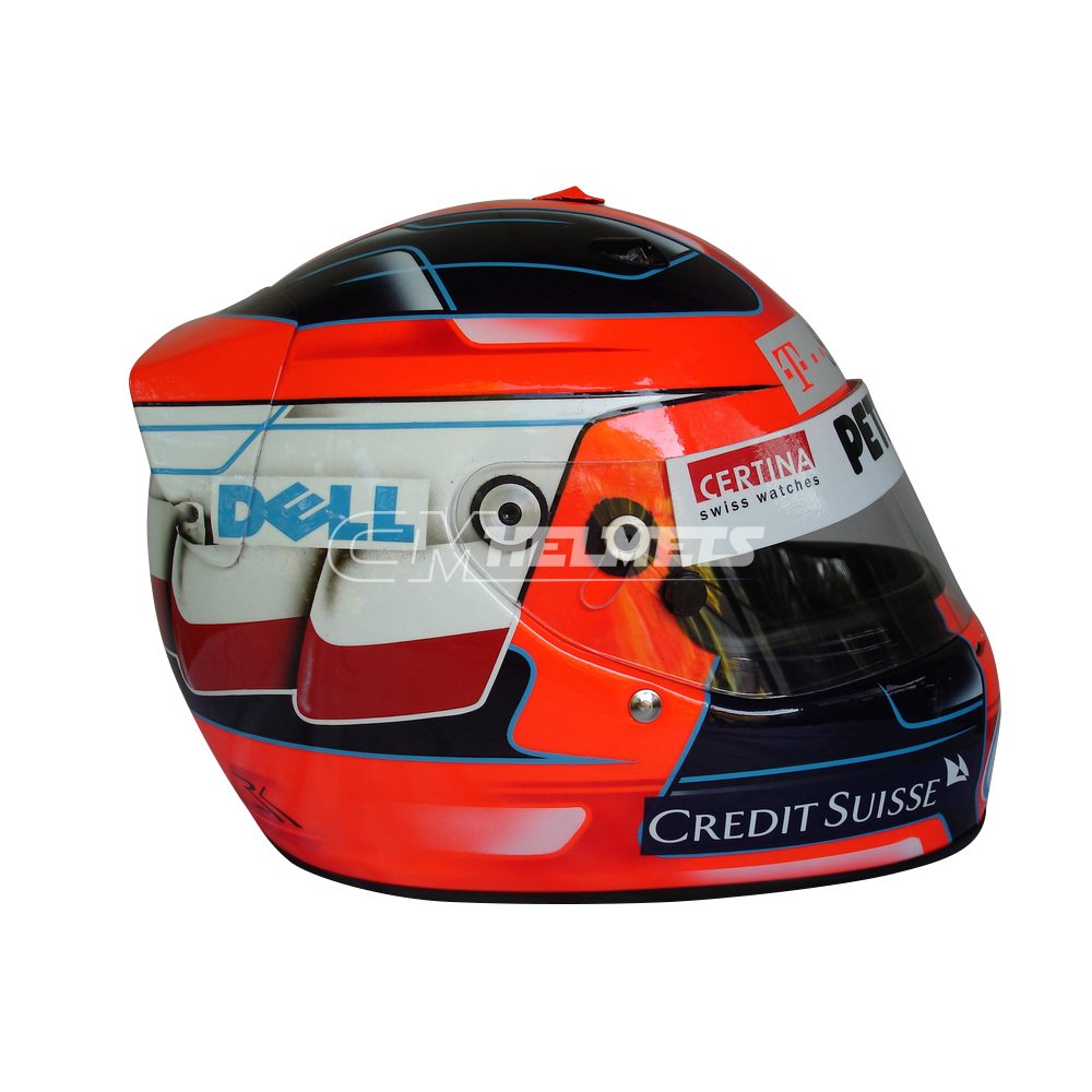 ROBERT KUBICA 2008 INTERLAGOS GP F1 REPLICA HELMET FULL SIZE