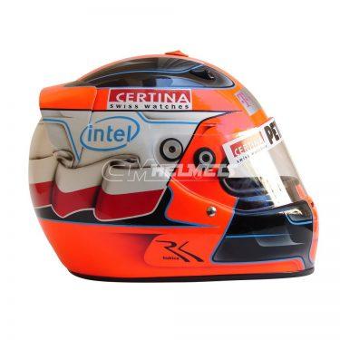ROBERT KUBICA 2009 F1 REPLICA HELMET FULL SIZE