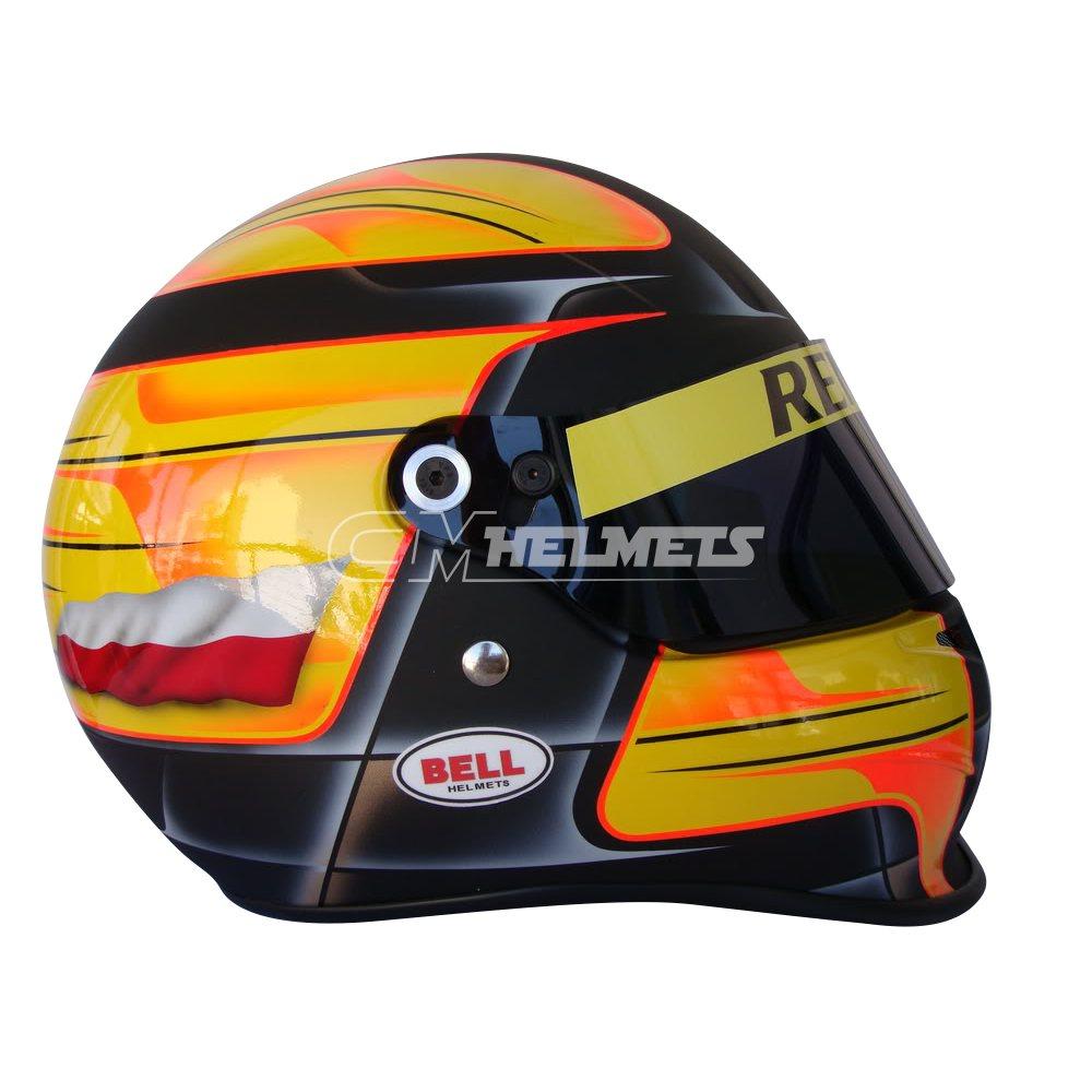 ROBERT KUBICA 2010 F1 REPLICA HELMET FULL SIZE