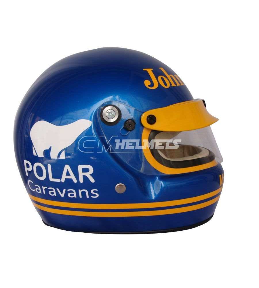 RONNIE PETERSON 1973 1974 F1 REPLICA HELMET FULL SIZE