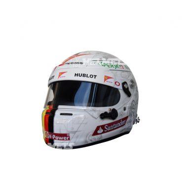 SEBASTIAN VETTEL 2015 MEXICAN GP F1 REPLICA HELMET FULL SIZE
