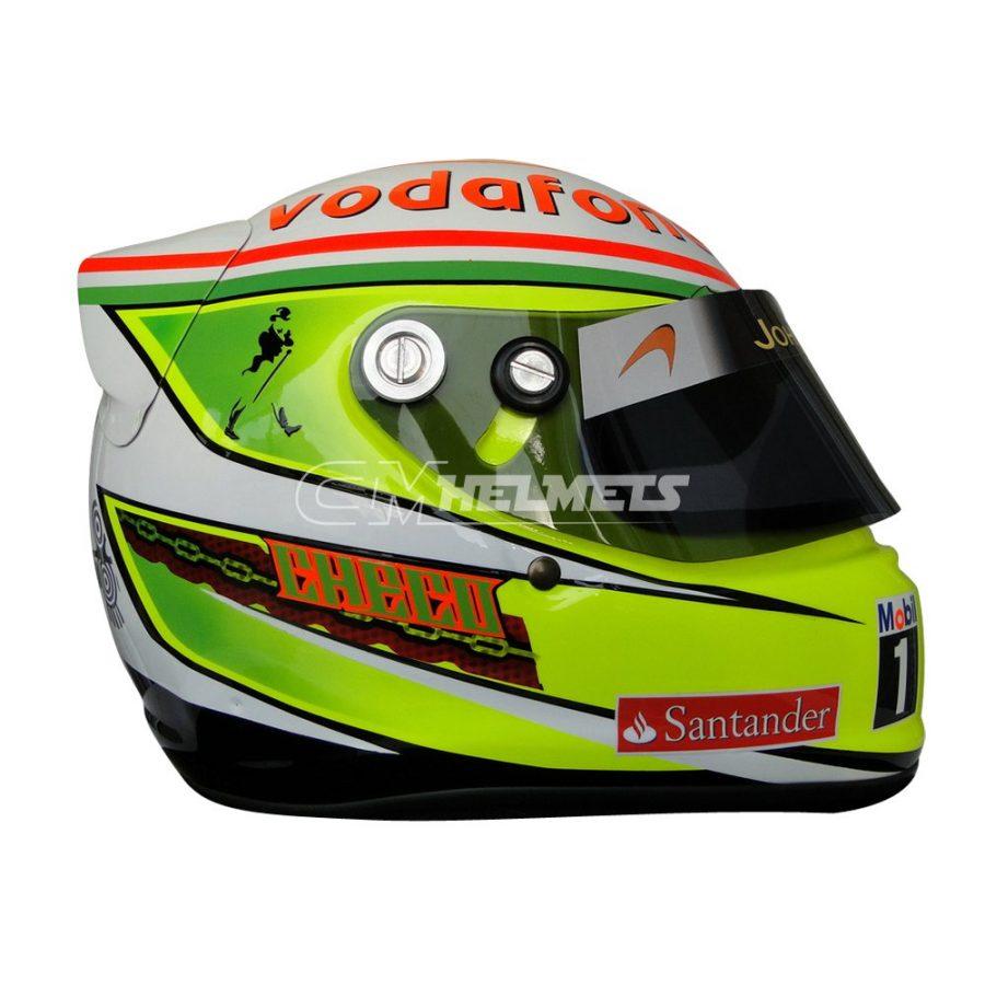 SERGIO PEREZ 2013 F1 REPLICA HELMET FULL SIZE