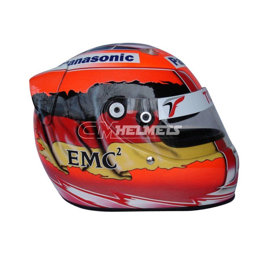 TIMO GLOCK 2008 F1 REPLICA HELMET FULL SIZE